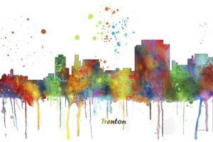 Trenton New Jersey Skyline MCLR 1 by Marlene Watson