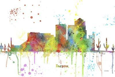 Tucson Arizona Skyline MCLR 1 by Marlene Watson