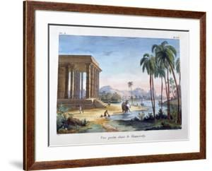 A View of Tinnevelly, India, 1828 by Marlet et Cie