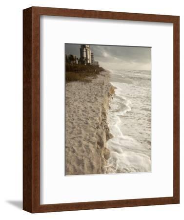 Beach Erosion During a Storm, Gulf Coast, Florida, USA