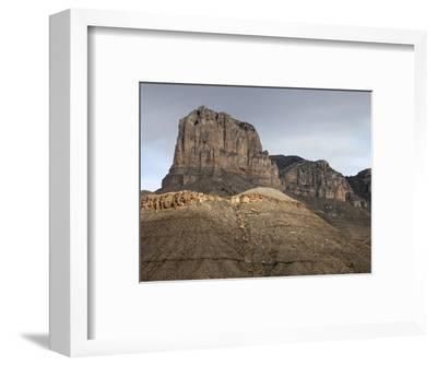 El Capitan Is Made of Massive Permian Limestone and Forms the Central Part of the Permian Reef