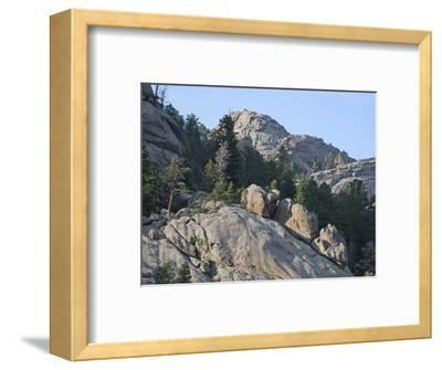 Erosion and Weathering of Granite, Rocky Mountains, Colorado, USA