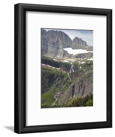 Hanging Valley, Glacial Headwall, and Arete, Grinnell Glacier Area, Glacier National Park, Montana