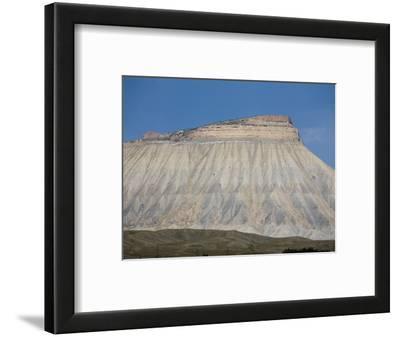 Mt. Garfield And Cretaceous Rocks of The Book Cliffs, Colorado, USA