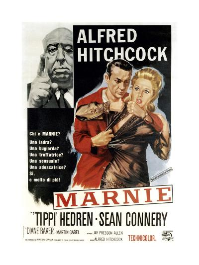 Marnie, Director Alfred Hitchcock, Sean Connery, Tippi Hedren, 1964--Giclee Print