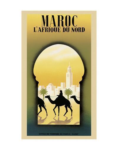 Maroc L'Afrique du Nord-Steve Forney-Art Print