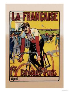 La Francaise: Bordeaux-Paris Bicycle Race by Marodon