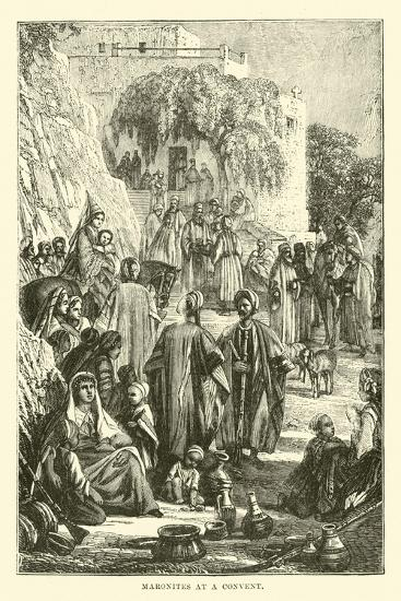 Maronites at a Convent--Giclee Print