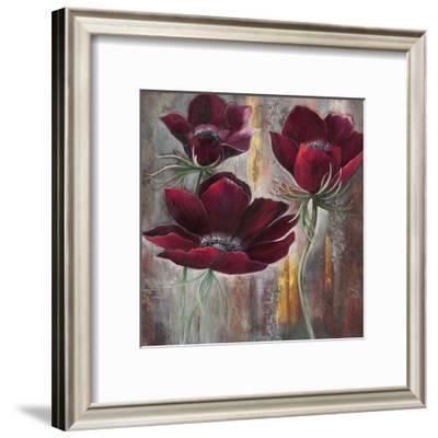 Maroon Velvet--Framed Art Print