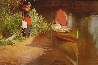 Marooned-Edward John Gregory-Giclee Print