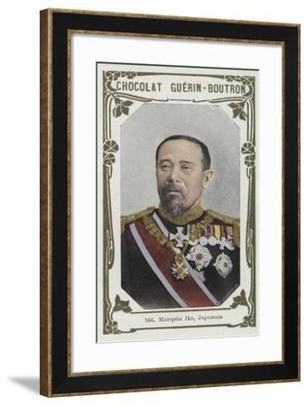 Marquis Ito, Japonais--Framed Giclee Print