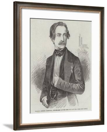 Marquis Messimo D'Azeglio, Aide-De-Camp of the King of Sardinia--Framed Giclee Print
