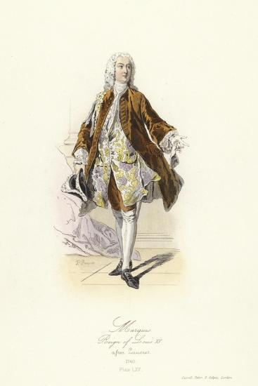 Marquis, Reign of Louis XV of France--Giclee Print