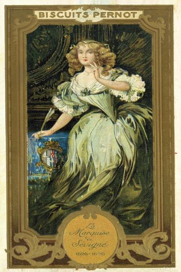 Marquise De Sevigne, French Writer--Giclee Print