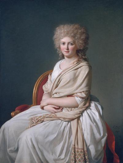 Marquise De Sorcy De Thelusson, 1790-Jacques-Louis David-Giclee Print