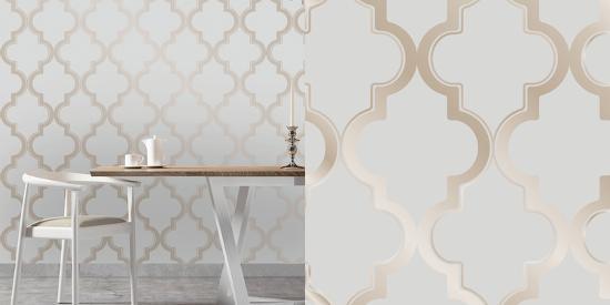 Marrakesh Bronze Grey Self Adhesive Wallpaper Home Accessories By Art