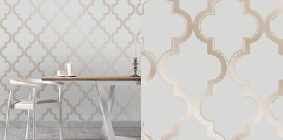 Marrakesh Bronze Grey Self-Adhesive Wallpaper