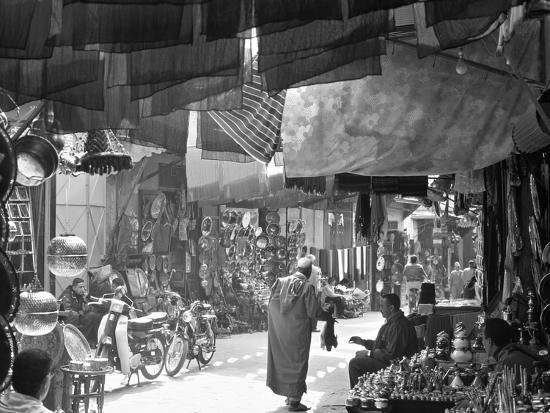 Marrakesh Market, Morocco-Peter Adams-Photographic Print