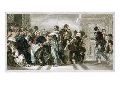 Marriage at Cana-Paolo Veronese-Giclee Print