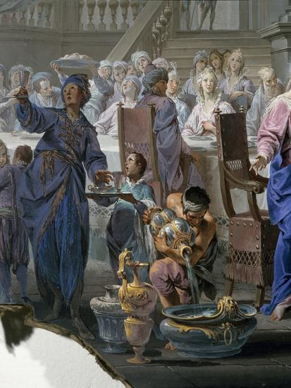 Marriage at Cana-Vittorio Maria Bigari-Giclee Print