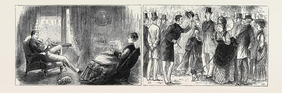 Marriage by Advertisement: Left Image: Hatching the Plot--Giclee Print