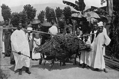 Marriage Custom, Uganda, 1920-CW Hattersley-Giclee Print