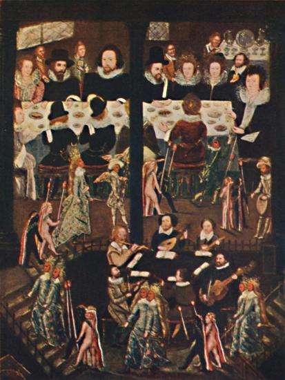 'Marriage Feast of Sir Henry Unton', c1596, (1903)-Unknown-Giclee Print