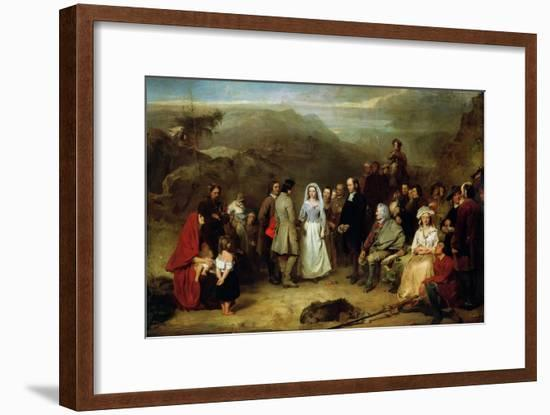 Marriage of the Covenanter-Alexander Johnston-Framed Premium Giclee Print