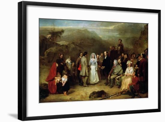 Marriage of the Covenanter-Alexander Johnston-Framed Giclee Print