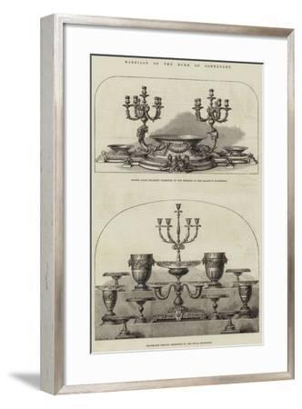 Marriage of the Duke of Connaught--Framed Giclee Print