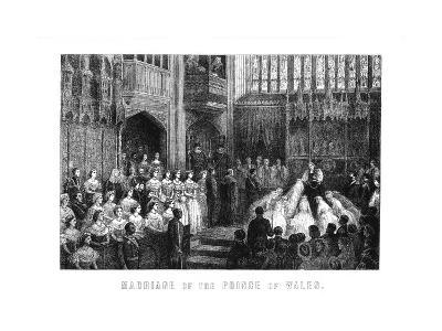 Marriage of the Prince of Wales, St George's Chapel, Windsor on 10 March 1863--Giclee Print
