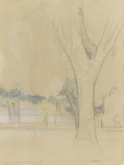 Marronniers du Jas de Bouffan-Paul C?zanne-Giclee Print