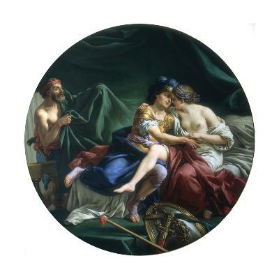 Mars and Venus Discovered by Vulcan, 1768-Louis Jean Francois Lagrenee-Giclee Print