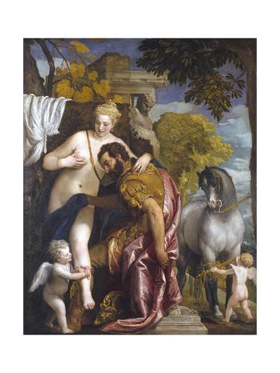 Mars and Venus United by Love-Paolo Veronese-Giclee Print