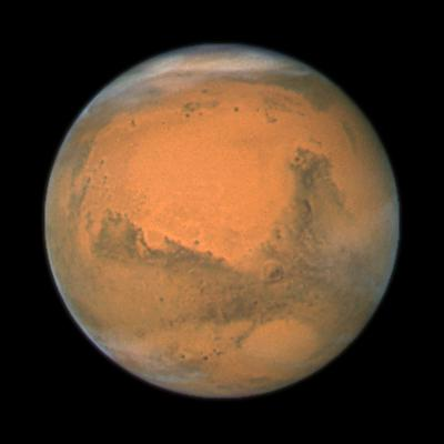 Mars Close Approach 2007, HST Image--Photographic Print
