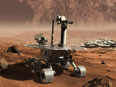 Mars Opportunity Rover--Photographic Print
