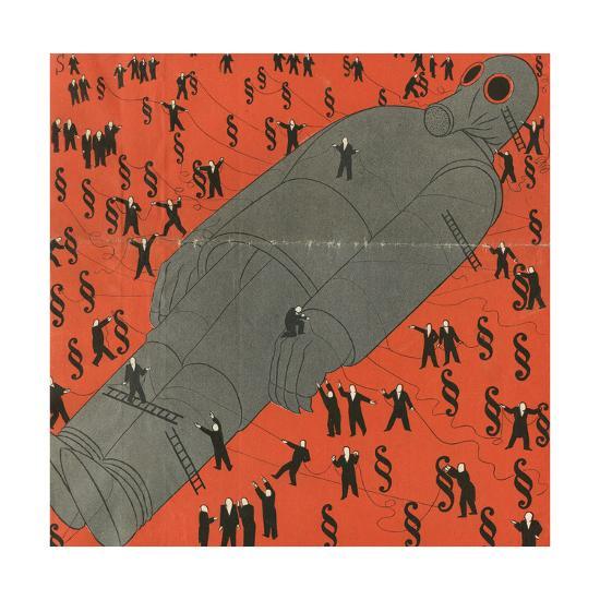 Mars Tied Down-Erich Schilling-Giclee Print