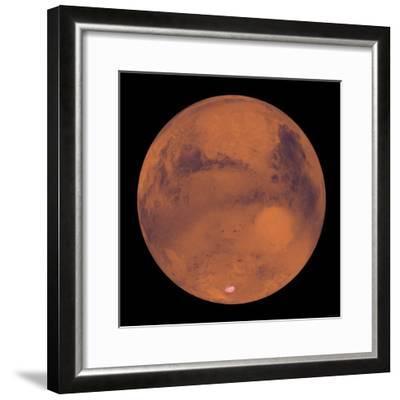 24 x 24 Mars Poster Print by Stocktrek Images