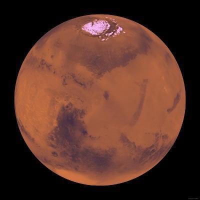 Mars-Stocktrek Images-Photographic Print