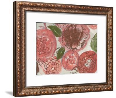 Marsala Bouquet 1-Smith Haynes-Framed Art Print