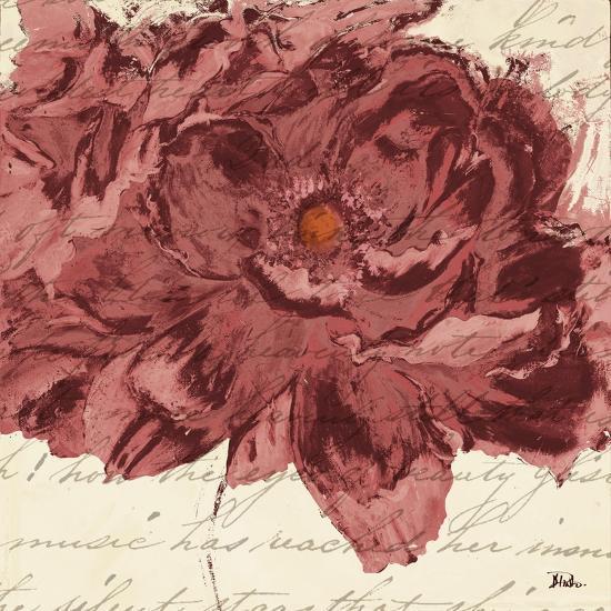 Marsala Peonies Square II-Patricia Pinto-Art Print