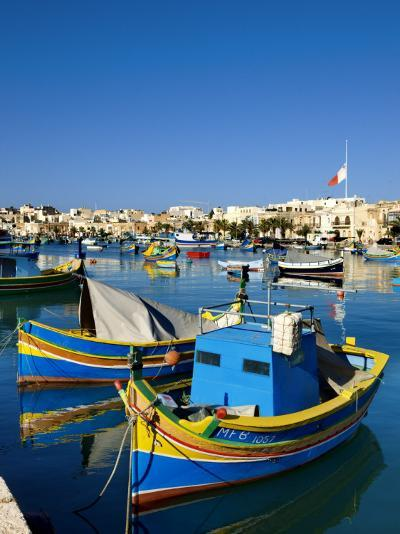 Marsaxlokk Harbour-Jean-pierre Lescourret-Photographic Print