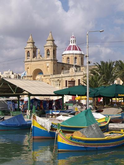 Marsaxlokk, Malta, Mediterranean, Europe-Hans Peter Merten-Photographic Print