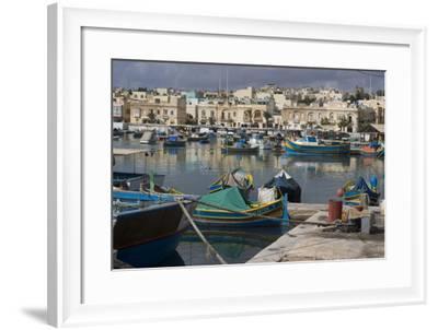 Marsaxlokk, Malta-Natalie Tepper-Framed Photo