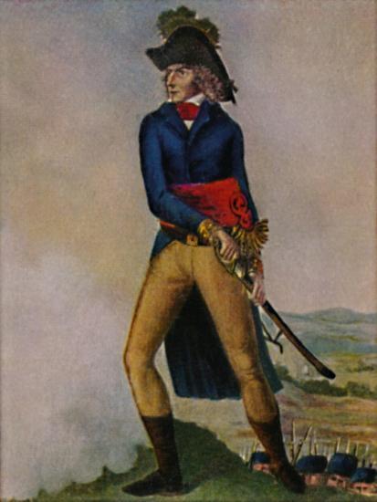 'Marschall Bernadotte 1763-1844. Stich nach der Zeichmung von Hilaire Le Dru', 1934-Unknown-Giclee Print
