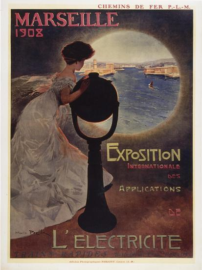 Marseille 1908-Marcus Jules-Giclee Print