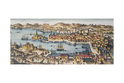 Marseille at the End of the 17th Century--Giclee Print
