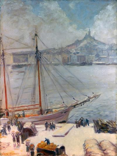 Marseille Quay, 1929-Emile Bernard-Giclee Print