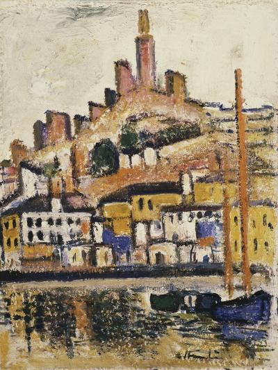Marseilles-George Leslie Hunter-Giclee Print