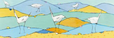 Marsh Egrets I-Phyllis Adams-Art Print